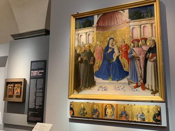 Da vedere fresca di restauro al Museo di San Marco in Firenze