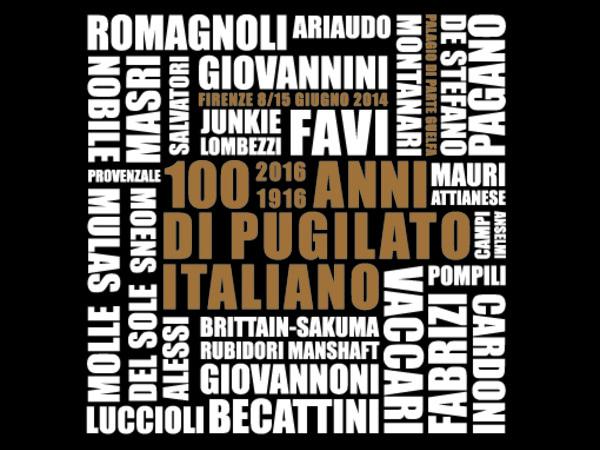 100 anni di pugilato italiano 1916-2016, Palazzo di Parte Guelfa, Firenze