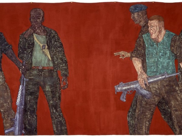 Leon Golub, <em>Mercenaries IV</em>, 1980 | Courtesy of Ulrich Meyer and Harriet Horwitz Meyer Collection, Chicago
