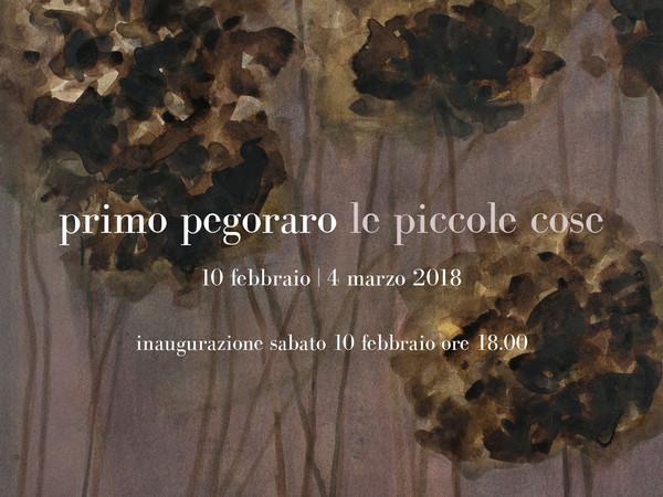 Primo Pegoraro. Le piccole cose, TheArtsBox, Vicenza