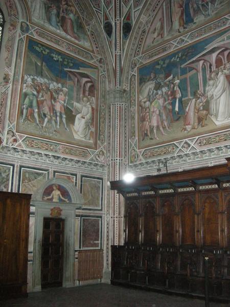 Sagrestia - Storie di san Benedetto
