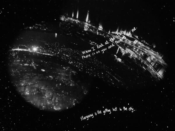 Grazia Toderi e Orhan Pamuk, Words and Stars (Monologo), 2013-2017, proiezione video, loop, sonoro