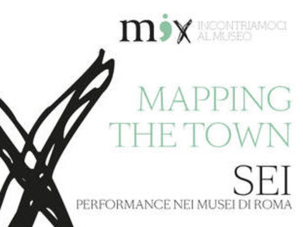 Mapping the town, Roma