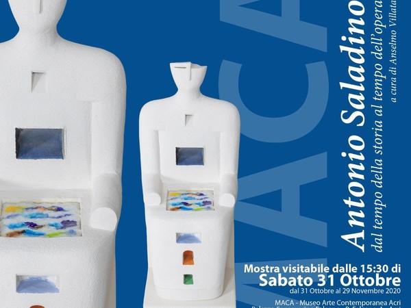 Antonio Saladino. Dal tempo della storia al tempo dell'opera, MACA (Museo Arte Contemporanea Acri)