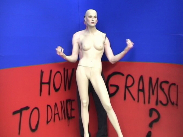 Thomas Hirschhorn, Dancing Philosophy (How To Dance Gramsci), 2007, video