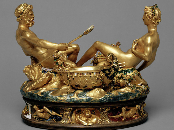 Una scatola d'oro della Kunstkammer alla Triennale di Milano