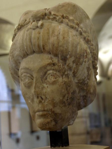 Testa dell'imperatrice Teodora