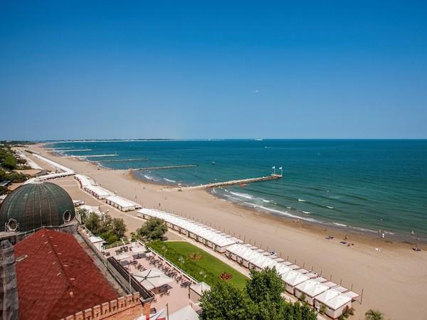Spiaggia dell'Hotel Excelsior