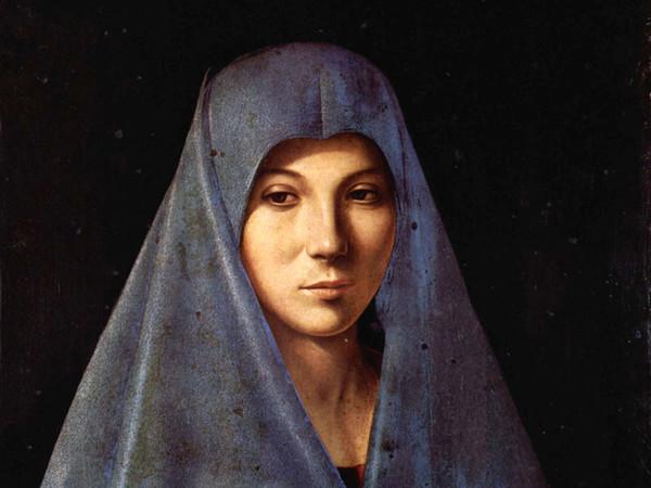 Antonello da Messina, Annunciata, 1475-76, Tempera e olio su tavola, 34.5 x 45 cm, Palermo, Galleria Regionale di Palazzo