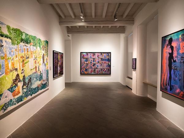 Gianluigi Colin, Costellazioni Familiari – Dialoghi sulla libertà. Installation views, Palazzo del Governatore, Parma, 2019