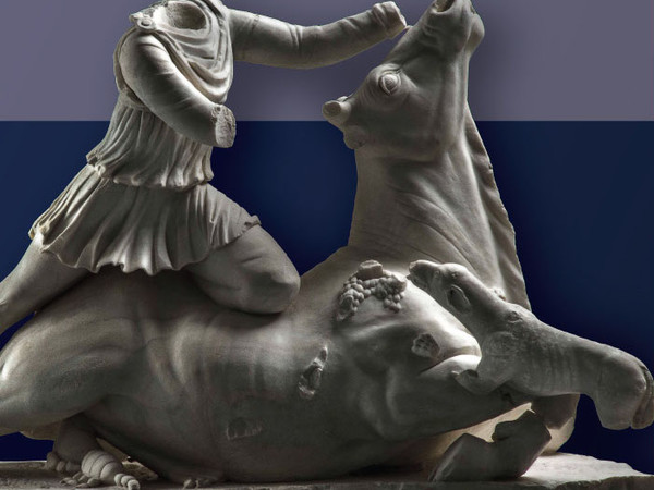 MitraTauroctono, Museo Archeologico Nazionale, Tarquinia