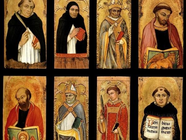 Taddeo di Bartolo, 8 tavolette dipinte