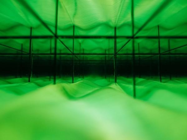 Aleman, Pemueller, Cohen, Paredes (collettivo UR Project), Torre di Babele, 2018, partic., tecnica mista, 50x50x50 cm.
