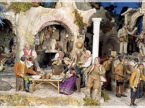 Il presepe del re mostra roma istituto centrale per for Tradizioni di roma