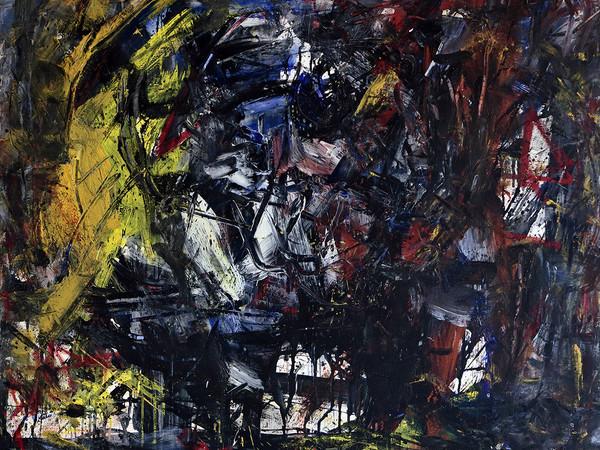 Emilio Vedova, Presenza 75, 1975 oli o su tela, cm. 80 x 90 (1)-2
