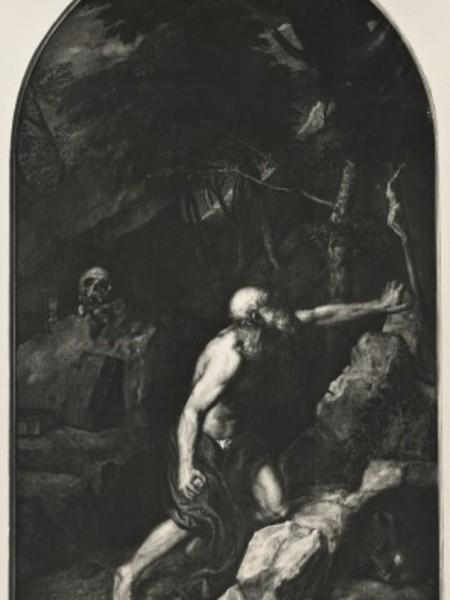 San Girolamo penitente nel deserto