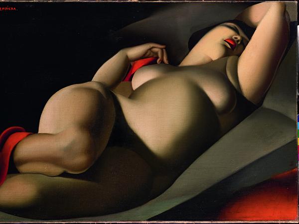 Tamara de Lempicka, La bella Rafaëla, 1927. Olio su tela, 64x91 cm. Collezione Sir Tim Rice, © Tamara Art Heritage. Licensed by MMI NYC/ ADAGP Paris/ SIAE Roma 2015