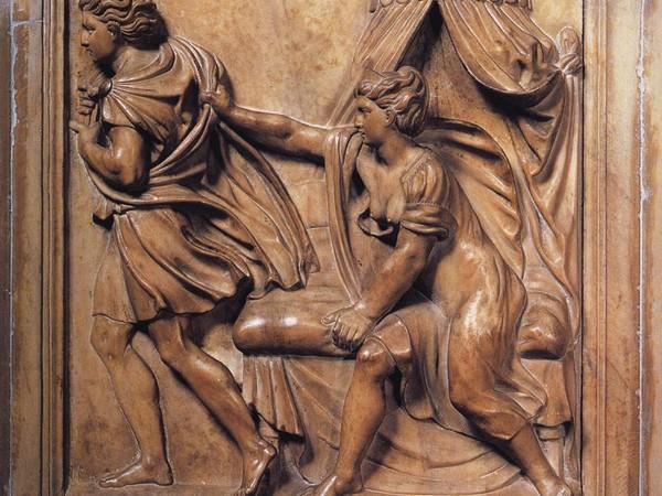 Giuseppe tentato e La moglie di Putifarre che accusa Giuseppe