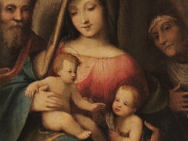 Correggio, Sacra Famiglia con i santi Elisabetta e Giovannino, 1510 ca.