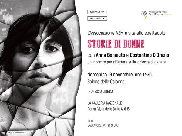 Storie di donne, Galleria Nazionale d'Arte Moderna e Contemporanea, Roma