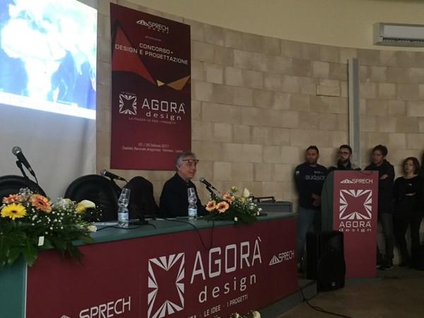 Lectio magistrali Agorà Design, 2017