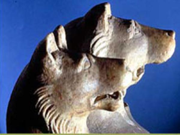 Cippo raffigurante Cerbero