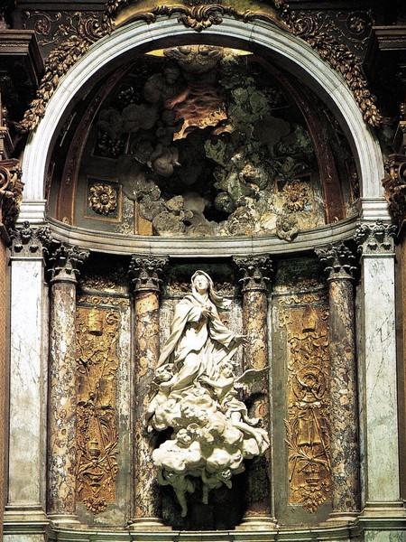 Santa Marta in gloria