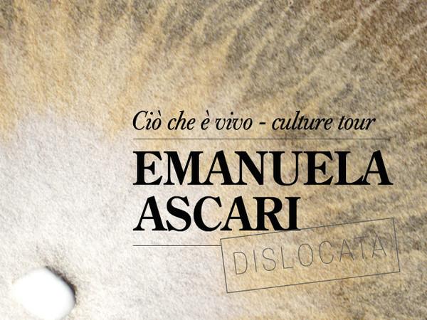 Emanuela Ascari. Ciò che è vivo - culture tour