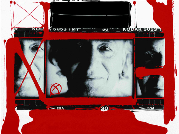 Autoritratto William Klein, Parigi, 1998