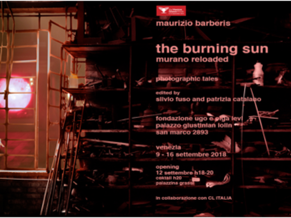 Maurizio Barberis. The Burning Sun. Murano Reloaded