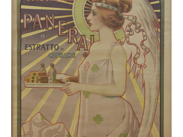 Vittorio Corcos, Manifesto per Pastigle Paneraj, 1899