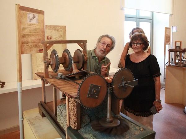 Tra natura e scienze. Le macchine di Leonardo, Centrale Idrodinamica, Trieste