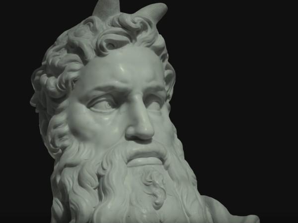 Fotogramma dal trailer del film Il Peccato. Il furore di Michelangelo, Mosè | Courtesy of Andrei Konchalovsky Studios, Jean Vigo Italia e Rai Cinema 01 Distribution
