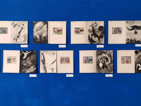 Alcune delle tavole del <em>Decameron</em> illustrate da Chagall in mostra alla Kasa dei Libri