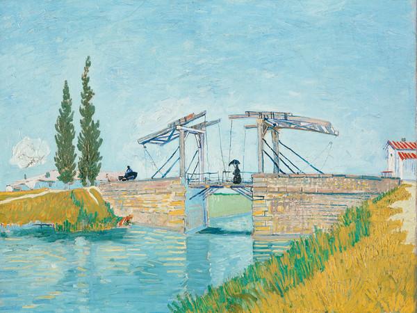 Vincent van Gogh, <em>Il ponte di Langlois a Arles</em>, 1888, Olio su tela, 64 x 49.5 cm, Colonia, Wallraf-Richartz-Museum &amp; Fondation Corboud