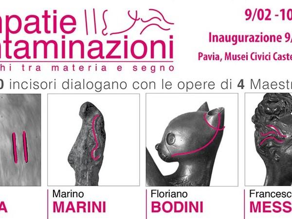 Empatie/Contaminazioni. Dialoghi tra materia e segno, Castello Visconteo, Pavia