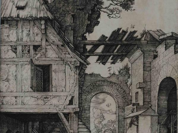 Albrecht Dürer, Sacra Famiglia, Incisione a bulino, 122 x 155 mm   Courtesy © Musei Civici di Bassano