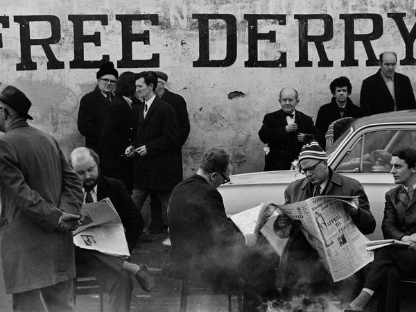 Gian Butturini, Free Derry, stampa ai sali d'argento