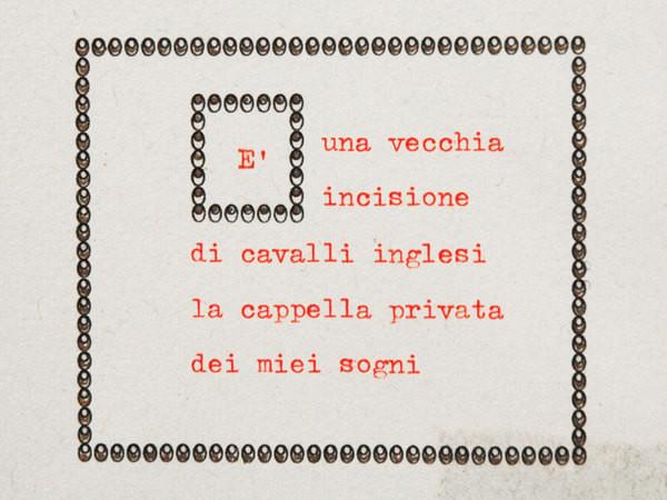 Viaggio al termine della parola, Galleria Tiziana Di Caro, Salerno