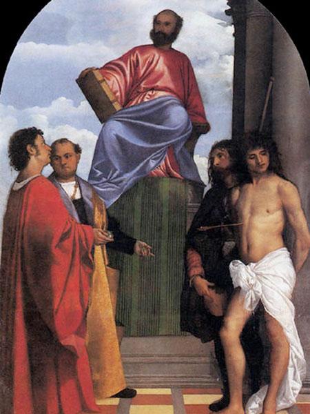 San Marco in trono