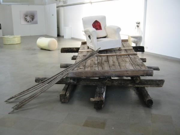 Manuela Bedeschi, Da dove, installazione