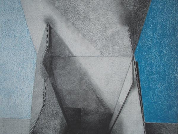 David Booker, Scatola aperta, matite su carta, cm. 56x76
