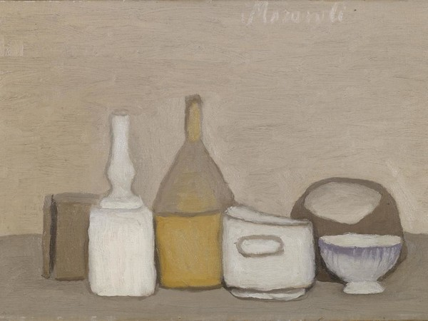 Giorgio Morandi, Natura morta, 1946, olio su tela, cm 32,4x48