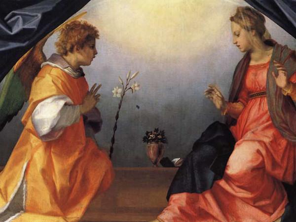 Andrea del Sarto, Annunciazione. Firenze, Galleria Palatina