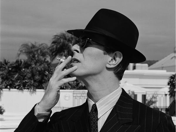 Michel Haddi, David Bowie, Los Angeles, 1994