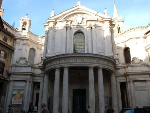 Facciata di Santa Maria della Pace