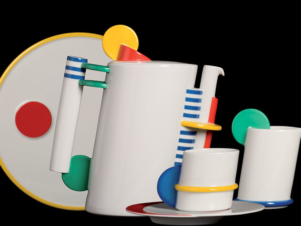 Marcello Morandini, Servizio da caffè, Circolo Color, Rosenthal, Selb, 1985