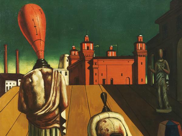 Giorgio de Chirico,<em> Le Muse Inquietanti</em>, 1925,(1947/1919) Roma, Galleria Nazionale d'Arte Moderna e Contemporanea<em></em>