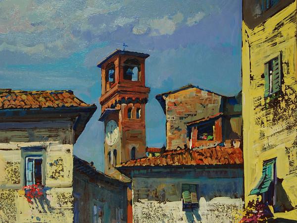 Giuseppe Landi, Piazza dell'Arancio
