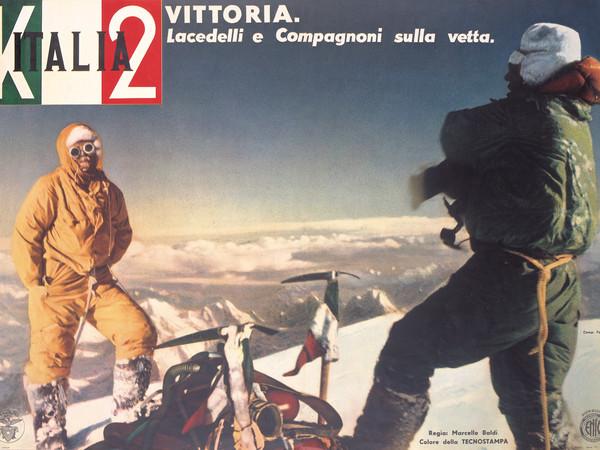 """Manifesto del film """"Italia K.2"""", 1955"""